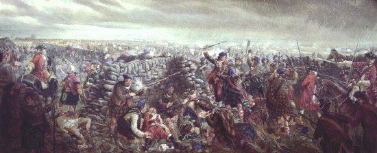 Culloden, dernière bataille  menée par les clans