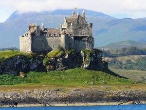 Le château de Duart (île de Mull), siège du clan Maclean