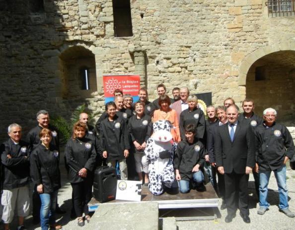 Ouverture de la coopérative La Fabrique du Sud au château de Carcassone