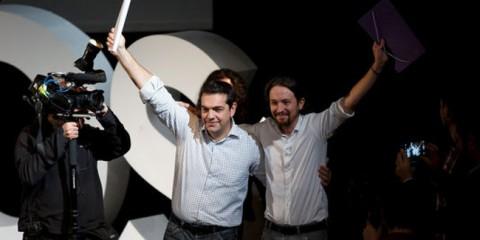 Alexis Tsipras (Syriza) et Pablo Iglesias (Podemos): une autre Europe ?