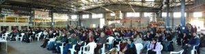 Rencontres à l'usine VioMe de Thessalonique (2016)