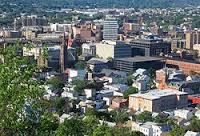 Vue de la ville de Paterson